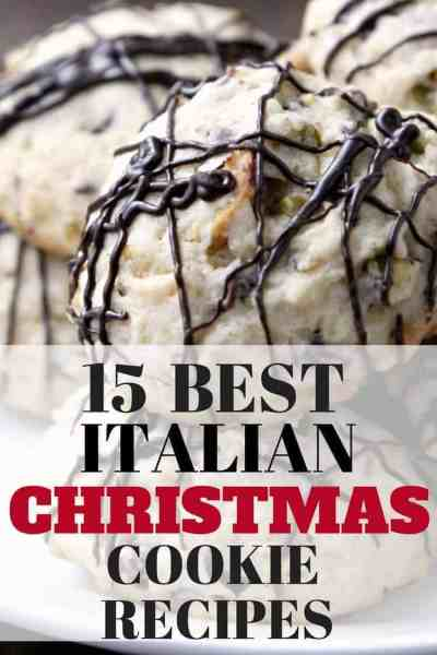 15 Best Italian Christmas Cookie Recipes - Italian Cookies. SnappyGourmet.com