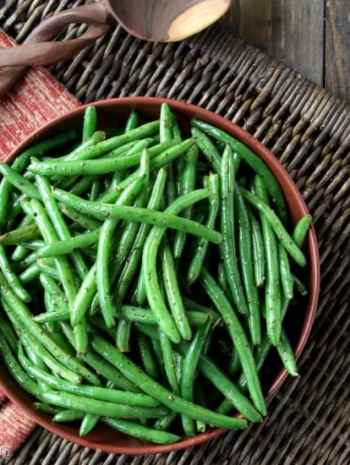 Simply Sauteed Italian Green Beans Recipe