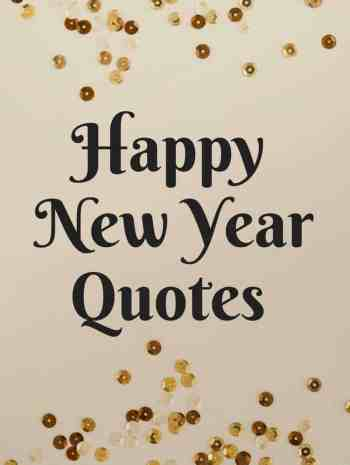 Happy New Year Quotes - Quotes for the new year that are happy and inspirational. Plus a free printable! SnappyGourmet.com