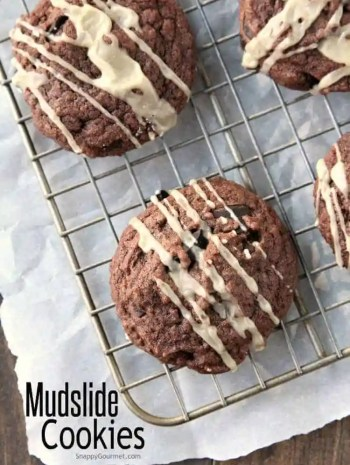 Mudslide Cookies Recipe (with Kahlúa and Baileys Irish Cream)