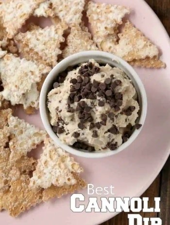 Best Cannoli Dip Recipe