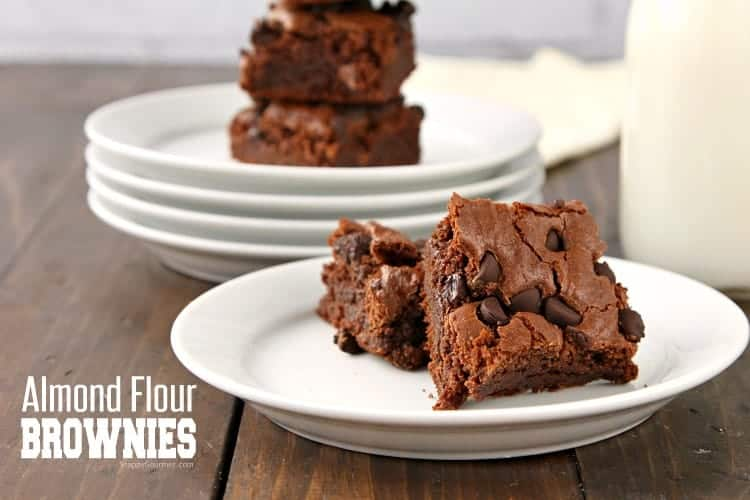 Almond Flour Brownies Recipe - simple from scratch gluten free brownies