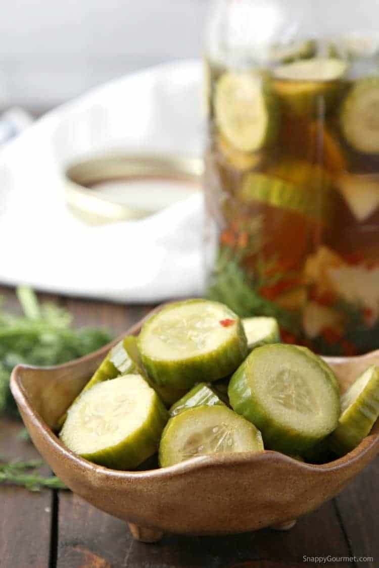 Spicy Pickle Recipe - homemade pickles recipe that are dill and spicy