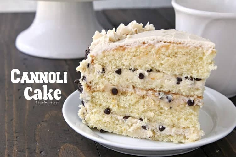 Cannoli Cake Recipe - from scratch cannoli cake