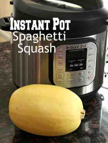 Instant Pot Spaghetti Squash - easy and best way to cook spaghetti squash whole in an Instant Pot