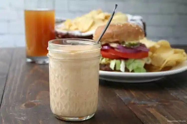 Boom Sauce Recipe - how to make an easy sauce for dipping, burgers, and fries