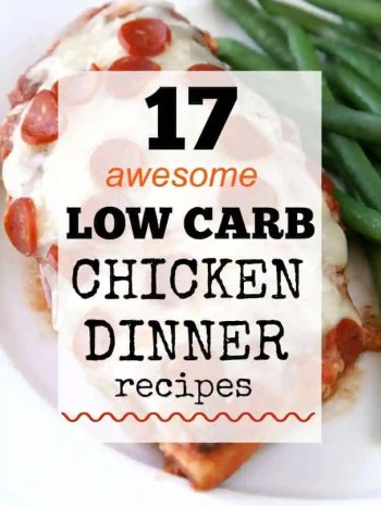 Low Carb Chicken Dinner Recipes