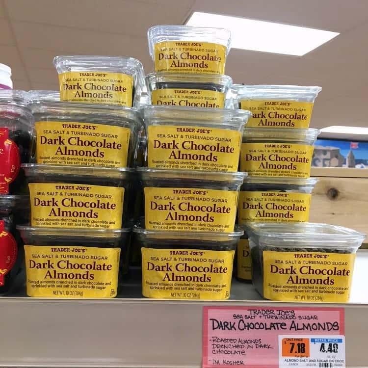 Best Trader Joe's Products (dark chocolate almonds)