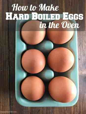 Hard-Boiled Eggs in Oven