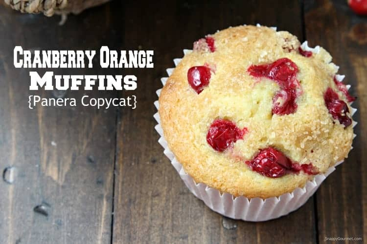 Cranberry Orange Muffins - easy homemade jumbo muffin recipe with buttermilk, cranberries, and orange