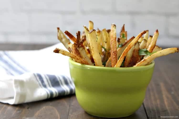 Truffle Fries - quick truffle oil fries made at home