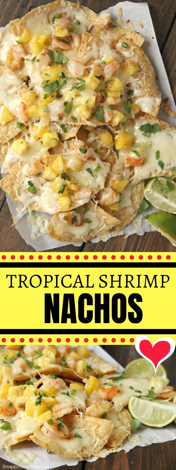 shrimp nacho collage