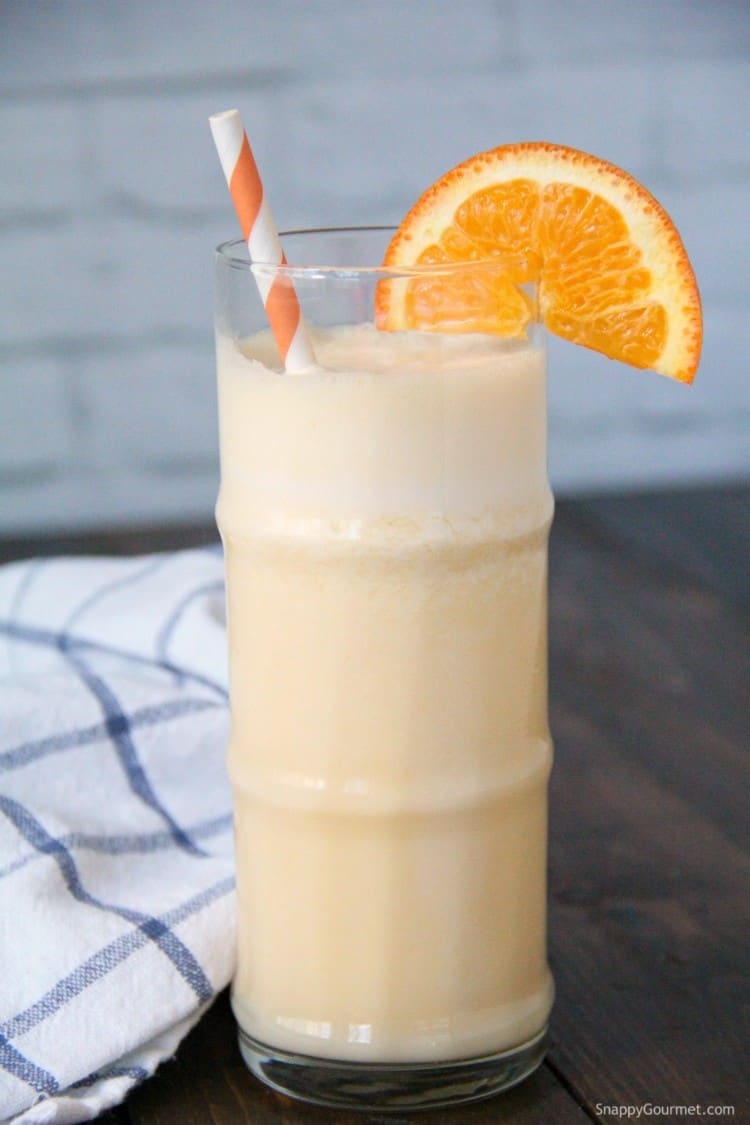 Orange Smoothie in glass