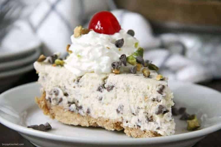 cannoli pie slice