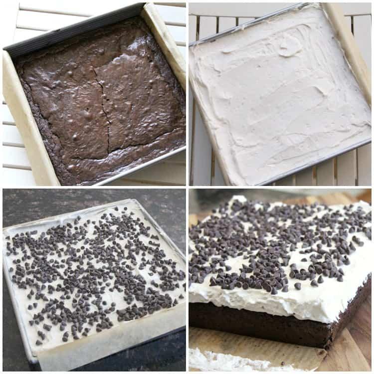 brownies in pan