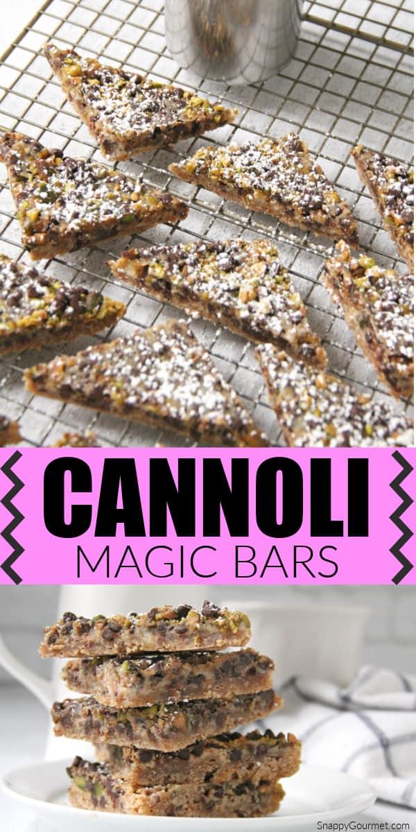 magic bars collage