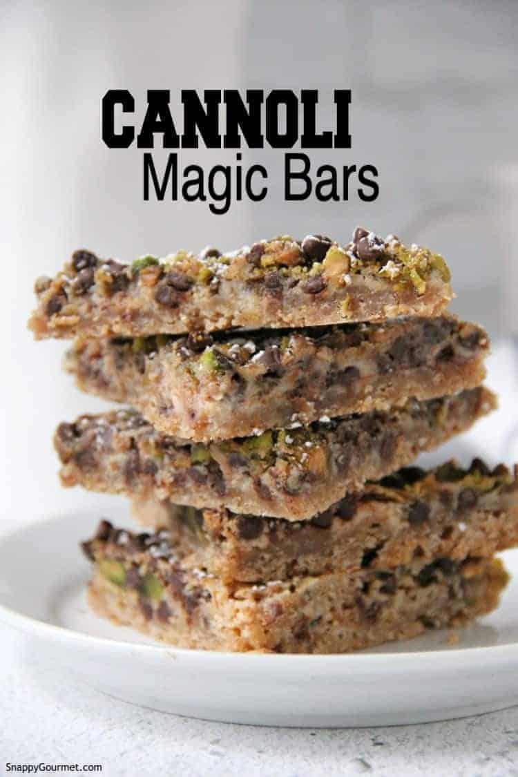 Cannoli Magic Bars
