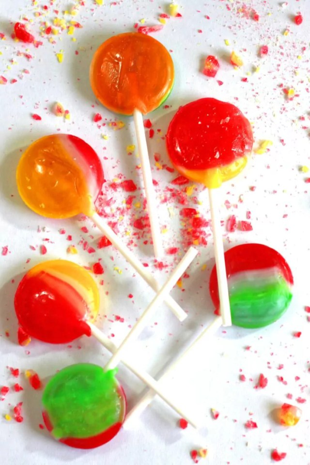 Homemade Lollipop Recipe Without Corn Syrup
