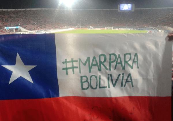 Bolivia recupera el mar 2015
