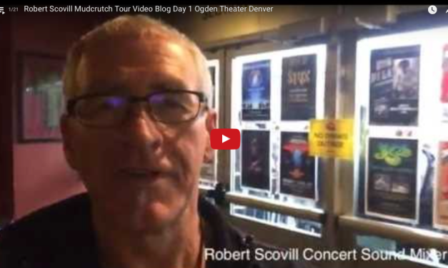 Video Diary, Mudcrutch Tour: Robert Scovill (YouTube)