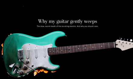 Why My Guitar Gently Weeps (Washington Post)
