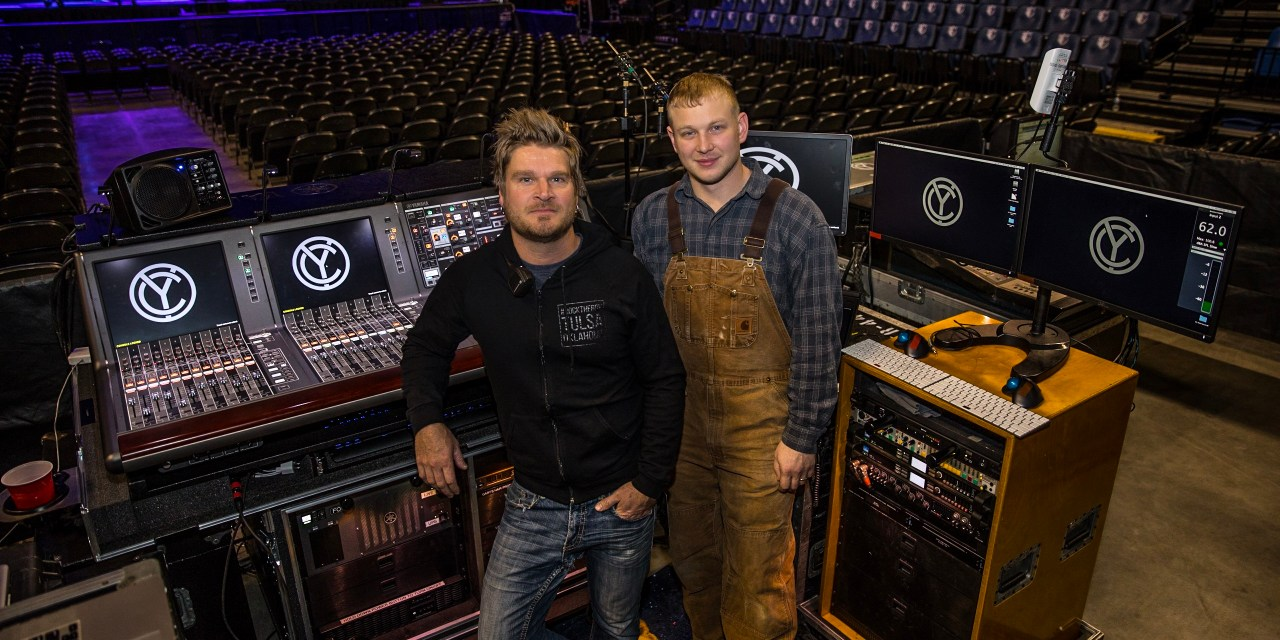 """Engineers Wide-Eyed Using Dual Yamaha PM10s for Sold-Out Chris Young """"Losing Sleep 2018 World Tour"""""""