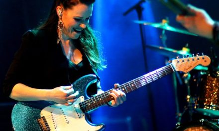 Europe's 'Best Blues Guitarist', Erja Lyytinen, Tours with Allen & Heath SQ-5