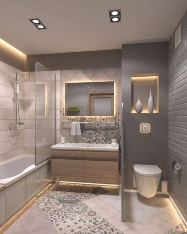 Full Feature Bathroom Design Plan