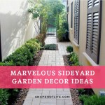 49+ Marvelous Sideyard Garden Decor Ideas