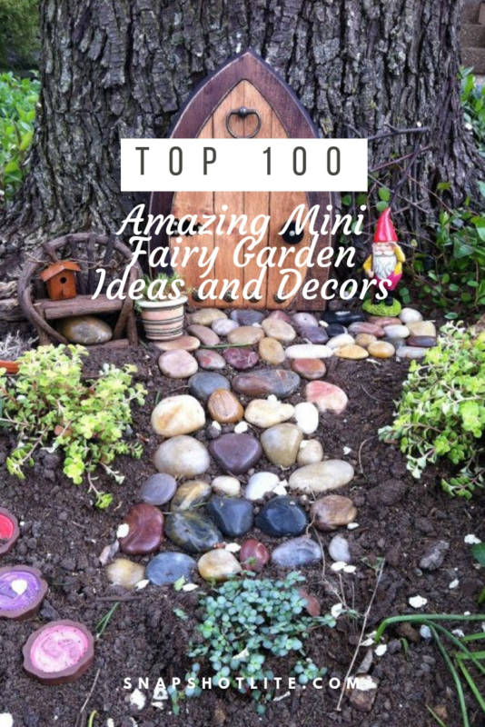 Amazing Mini Fairy Garden Ideas and Decors