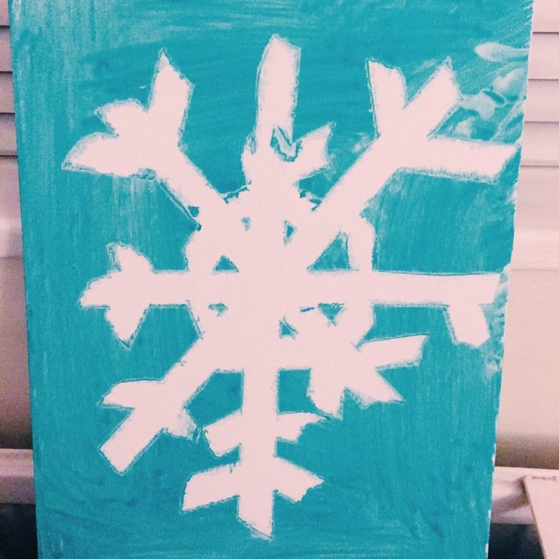 snowflake christmas crafts
