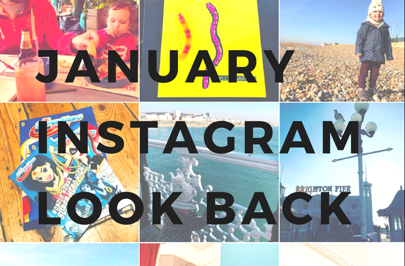 instagram look back january