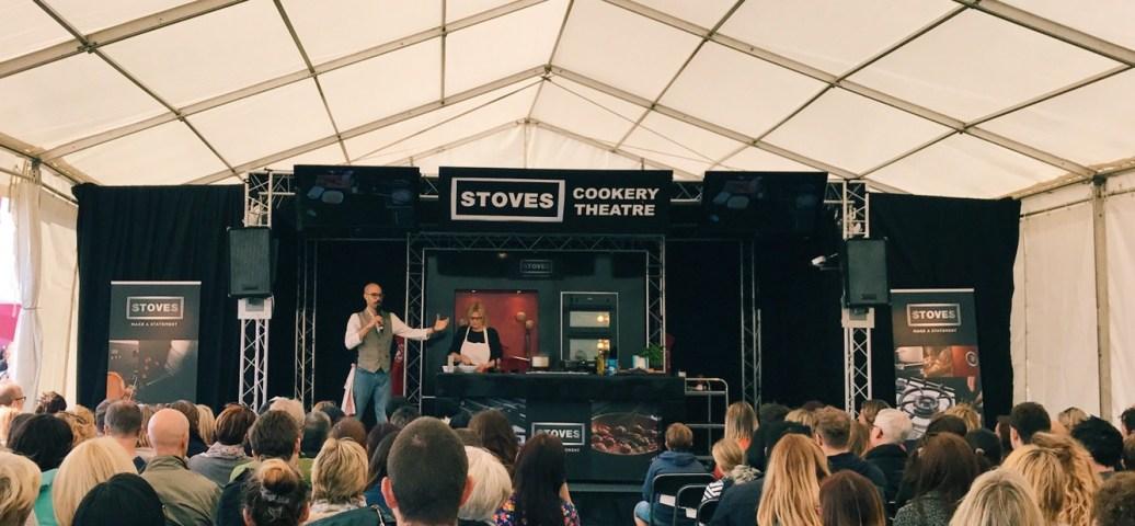 Foodies festival Brighton chefs tent