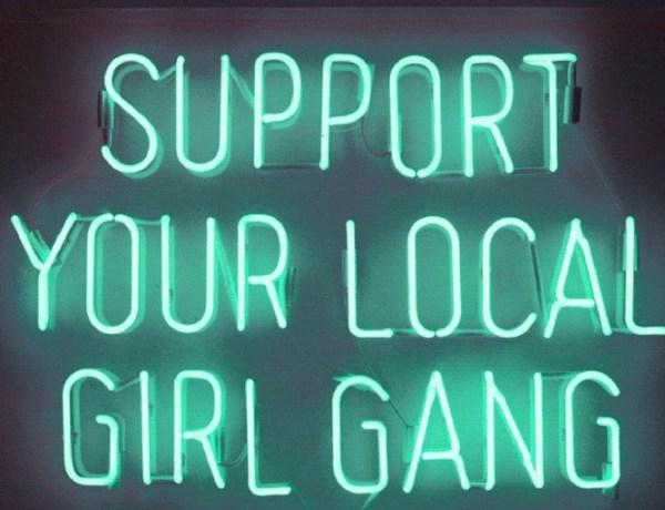 support girl gang logo blogs