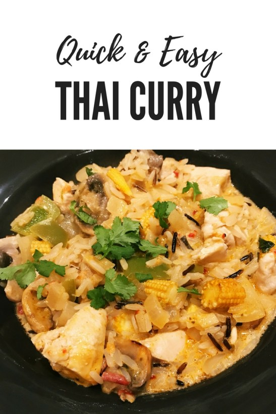oven baked thai curry