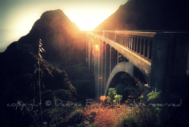 big creek bridge. photo by desiree east