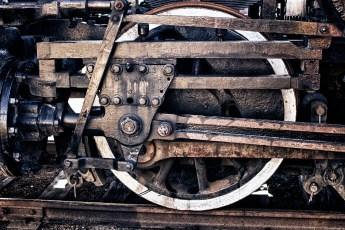 Steam Train Wheel