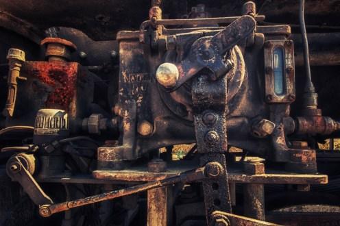 Train mechanical detail