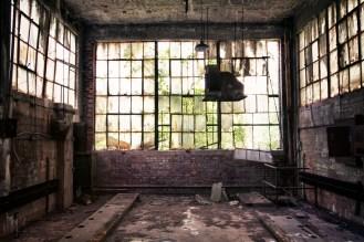 Factory vestibule
