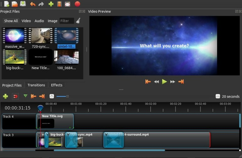 aplikasi edit video windows openshot