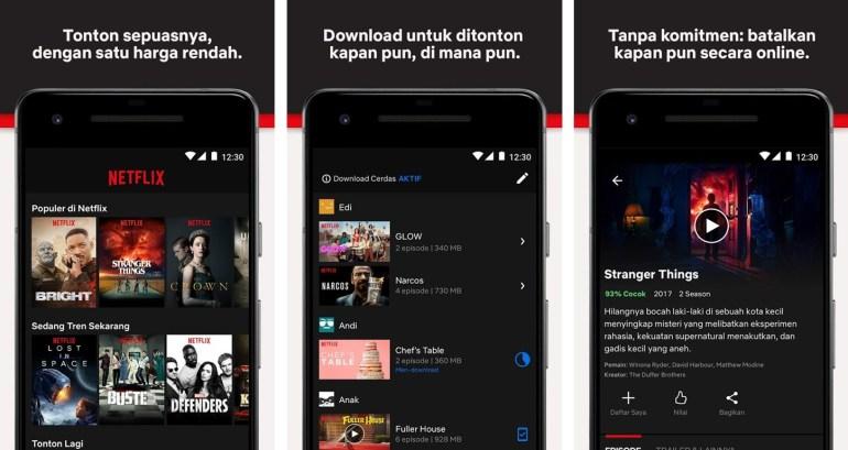 apps aplikasi download film netflix