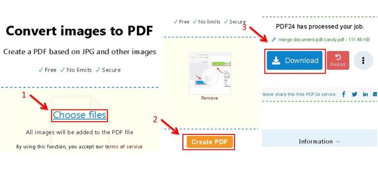 cara mengubah file jpg ke pdf pakai pdf 24