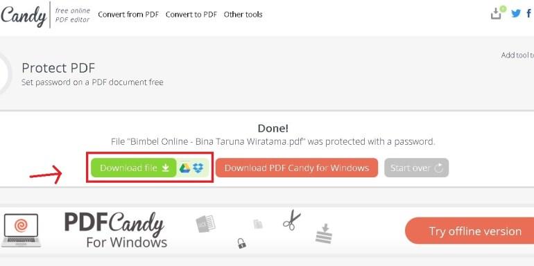 donwload file pdf telah di lock