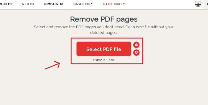 select file pdf hapus halaman