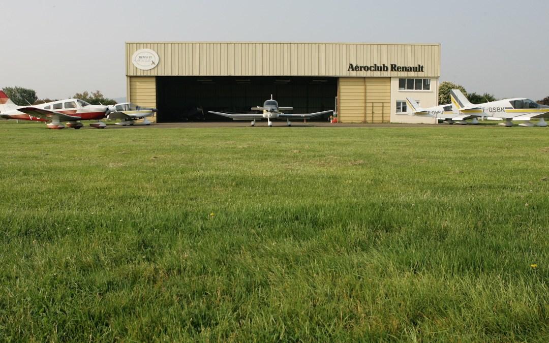 SnapWeb présente le site Internet de l'Aéroclub Renault à Chavenay