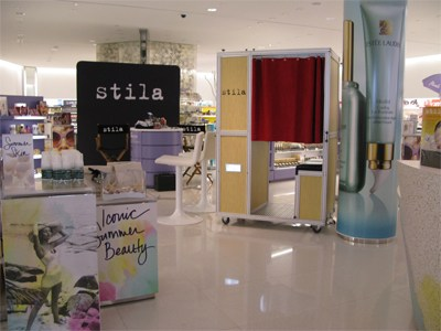 Snapz Photo Booth & Stila Cosmetics