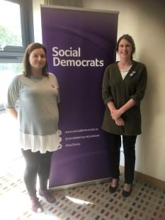 With Marina Reilly, Local Area Representative for Swords