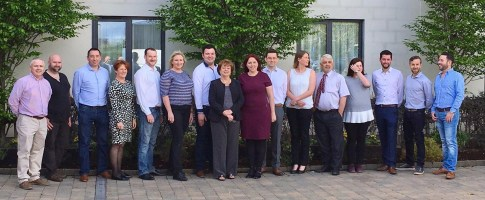 With Catherine Murphy TD and SocDems Local Area Reps at the strategic meet in Portloaise, May 2017