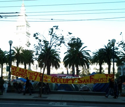 occupy_sf_banner_and_tent_camp