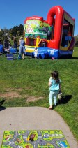 brooke_walking_to_bouncy_house